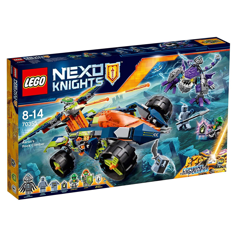 Jouet Lego Nexo Knights 70355 : Le turbo 4x4 d'Aaron