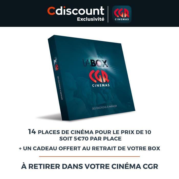 Lot de 14 Places à utiliser dans les Cinémas CGR (Dématérialisés)