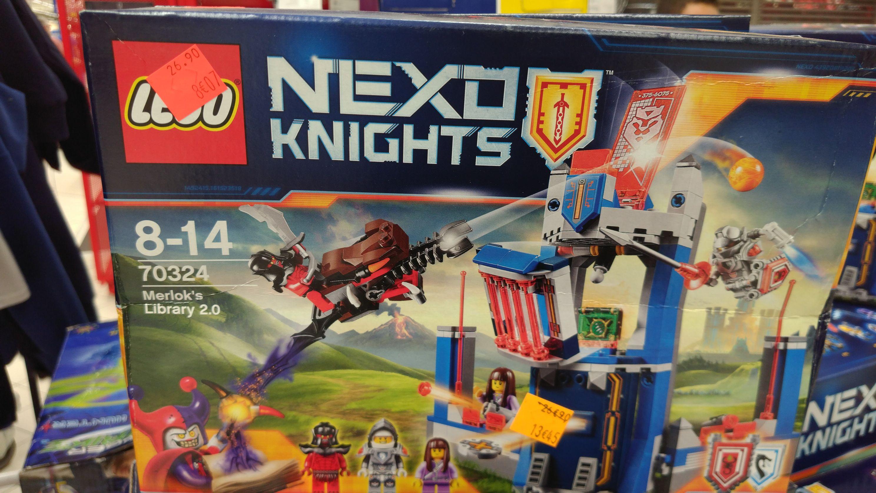 Jeu de construction Lego Nexo Knights - Collégien (77)