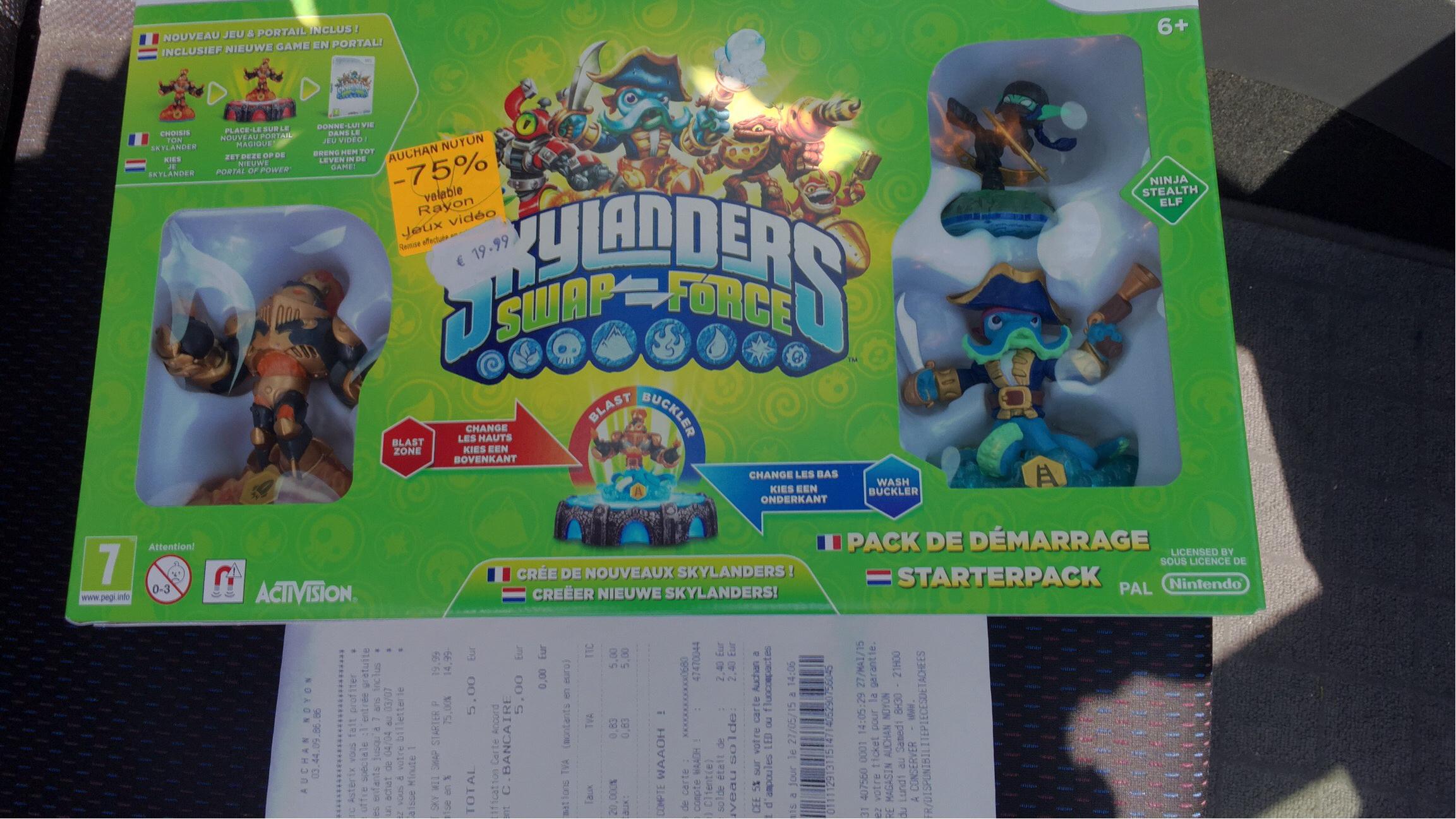 Pack skylanders swap force sur Wii