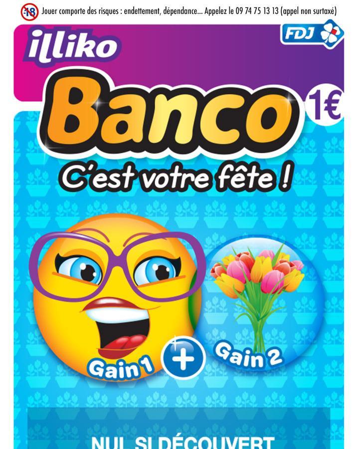 2 jeux Banco achetés = 1 Banco remboursé