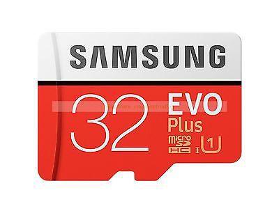 Carte mémoire microSDHC Samsung Evo Plus 32Go