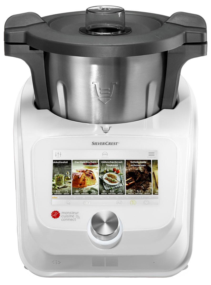 Robot culinaire SilverCrest Monsieur Cuisine Connect (Frontaliers Belgique)