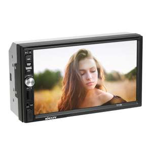 "Autoradio KKmoon 7012B - 2 DIN, Ecran 7"", MP5, Bluetooth"