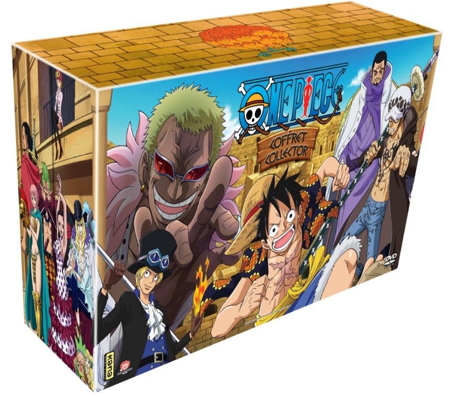 Coffret DVD One Piece Édition Limitée - L'Intégrale Arc 13 à 14 (Partie 5)