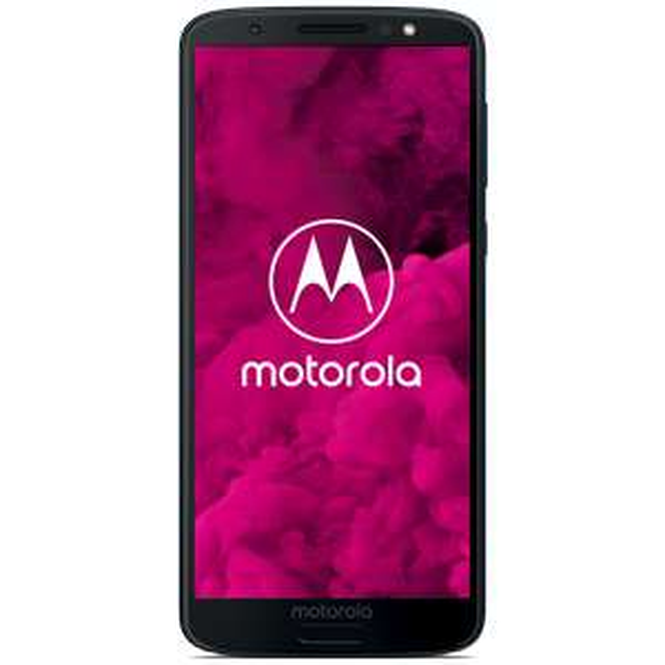 "Smartphone 5.7"" Motorola Moto G6 Argent / Indigo foncé - Full HD+, Snapdragon 450, 3 Go RAM, 32 Go ROM, 3000mAh Android 8.0 (via ODR de 50€)"