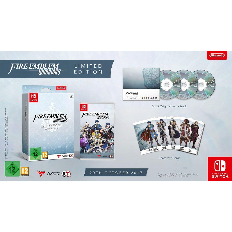 Fire Emblem Warriors - Limited Edition sur Nintendo Swtich (Frontaliers Belgique)