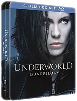 Coffret 4 Blu-Ray Underworld L'intégrale - Edition SteelBook