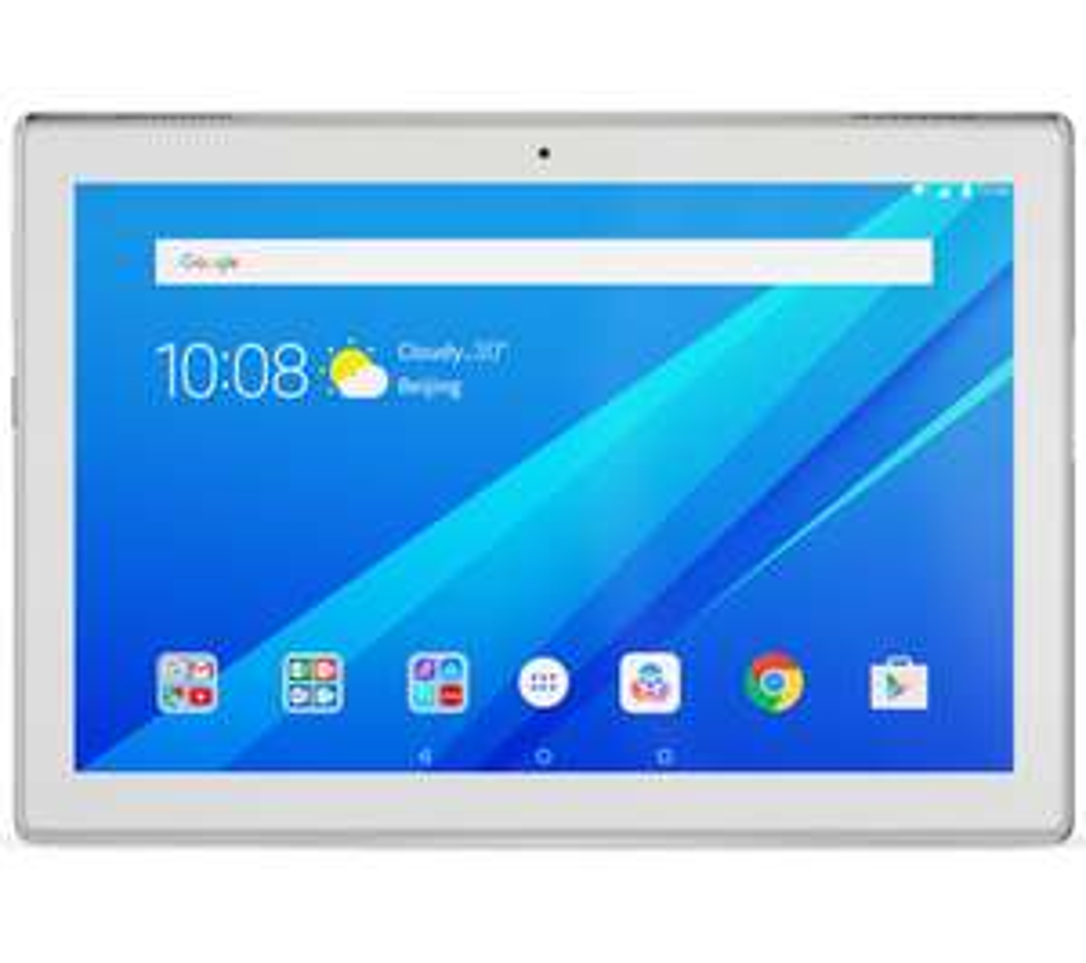 """Tablette tactile 10.1"""" Lenovo Tab 4 Plus (full HD, SnapDragon 625, 4 Go de RAM, 64 Go, Wi-Fi, blanc) + 10 films ou épisodes de séries min. sur Canal VOD (via ODR)"""