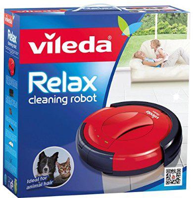 Robot Aspirateur Vileda 142860 Relax Rouge/Noir