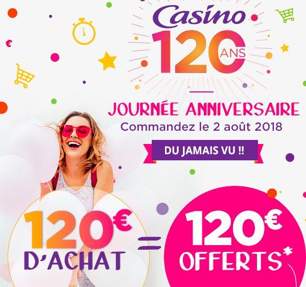 [Sous conditions] 120€ offerts pour toutes commandes dès 120€ d'achat (sous la forme de 6 bons d'achats de 20€ valables dès 100€ d'achats)