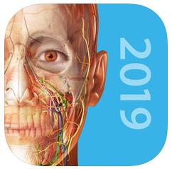Application Atlas d'Anatomie Humaine 2019sur iOS et sur Android
