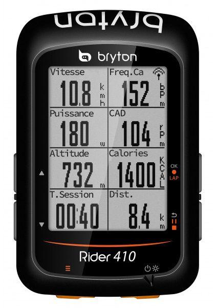 Compteur pour Vélo Compteur Bryton Rider 410 E - Nouvelle Version 2019 (Sergedutouron.com)