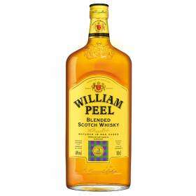 Bouteille de whisky William peel - 100cl (40% d'alcool)