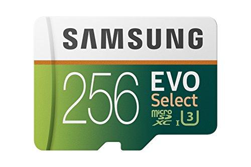 Carte Mémoire Micro SDXC Samsung EVO Select - 256 Go + Adaptateur SD
