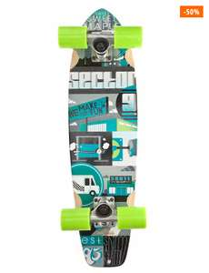 "Cruisers complet Sector 9 dart 7.5"" X 27.8"" - Green complete"