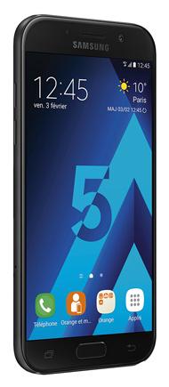 """Smartphone 5.2"""" Samsung Galaxy A5 2017 débloqué tout opérateur (via ODR de 50€)"""