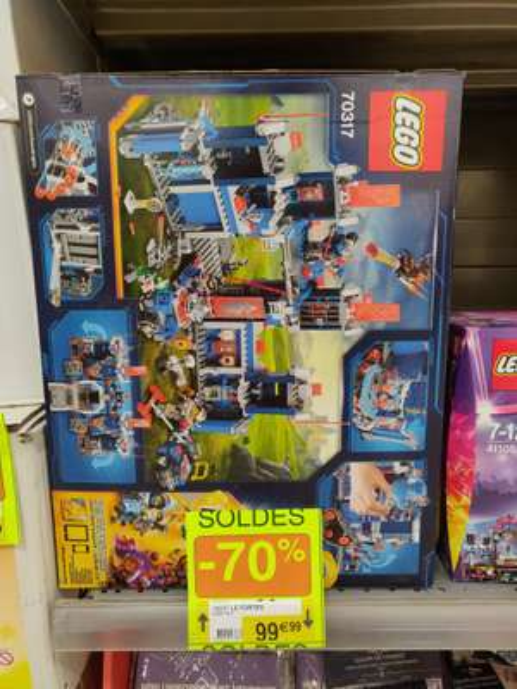 Jouet Lego Nexo Knights Le Fortrex - Lunéville (54)