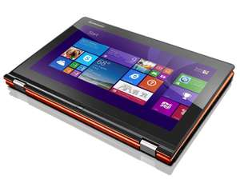 "PC portable 13"" Tactile Lenovo Yoga 2 (i5, 8 Go Ram SSD 256 Go) Orange"
