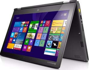 "PC Portable Tactile 13"" Lenovo Yoga 2 13 - i3, HDD 320 Go , 4Go RAM (Avec ODR de 100€)"
