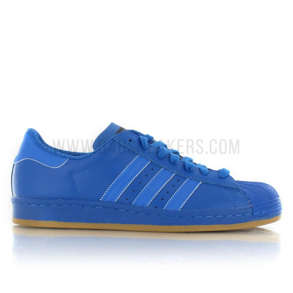 30% de réduction supplémentaires sur les Soldes Adidas - Ex : Adidas Superstar 80's Nite Jogger - Bleu