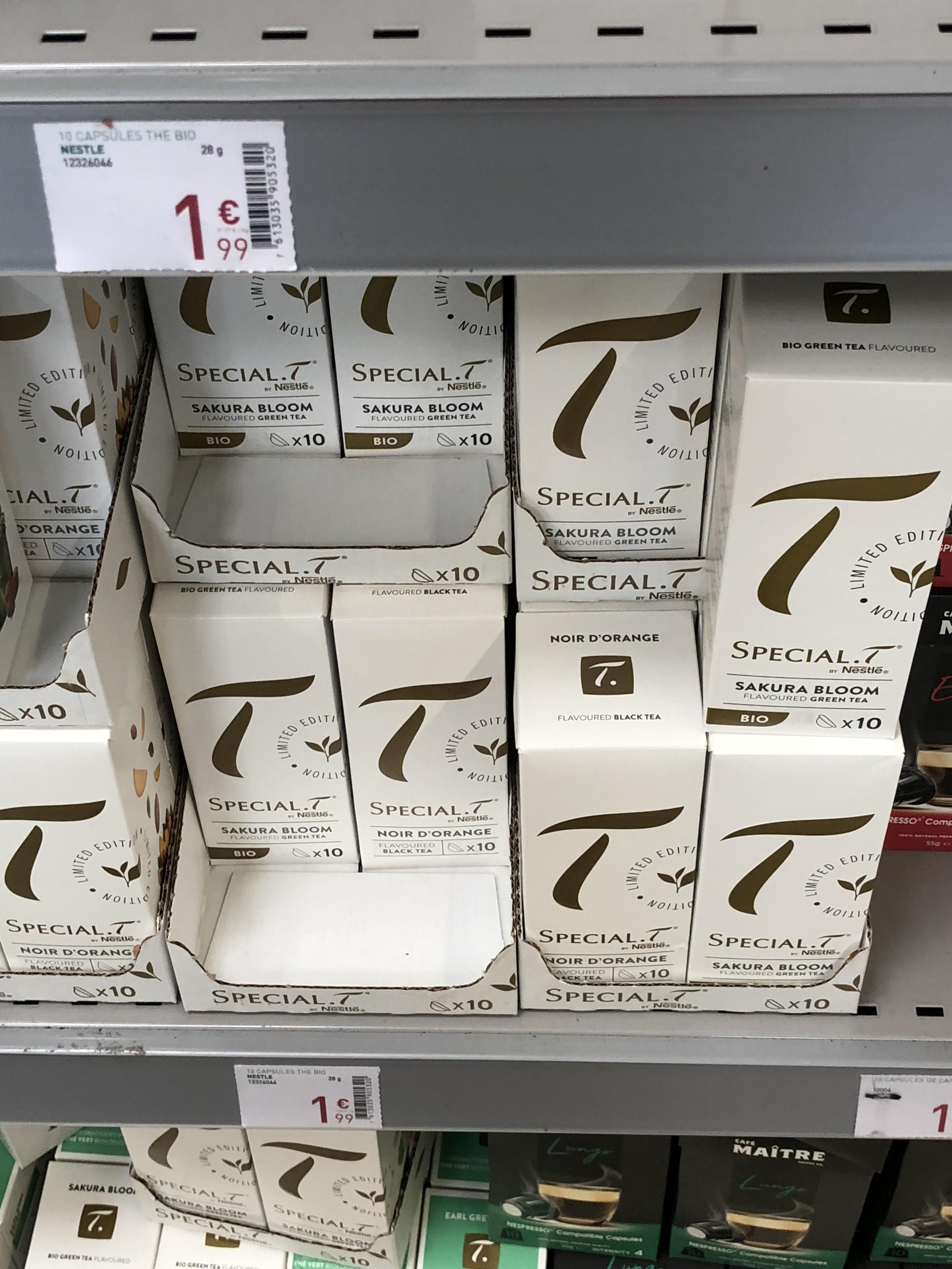 Caspules Special T série limitée - Stockomani Coignières (78)