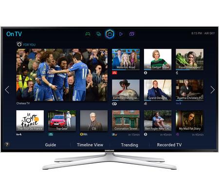 """TV LED 55"""" Samsung UE55H6400 - 3D, Smart TV, Full HD, 2 paires de lunettes incluses (+100€ en bon d'achat)"""