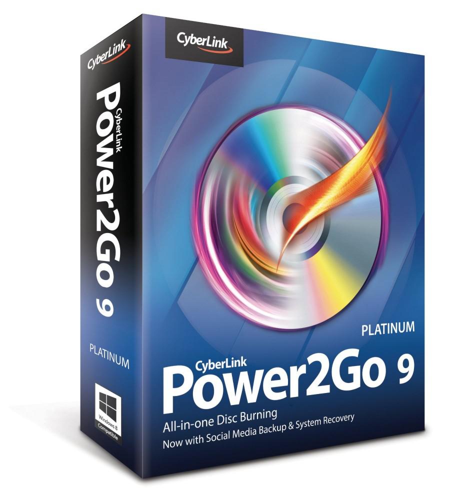 Logiciel de gravure CyberLink Power2Go 9 Platinum gratuit