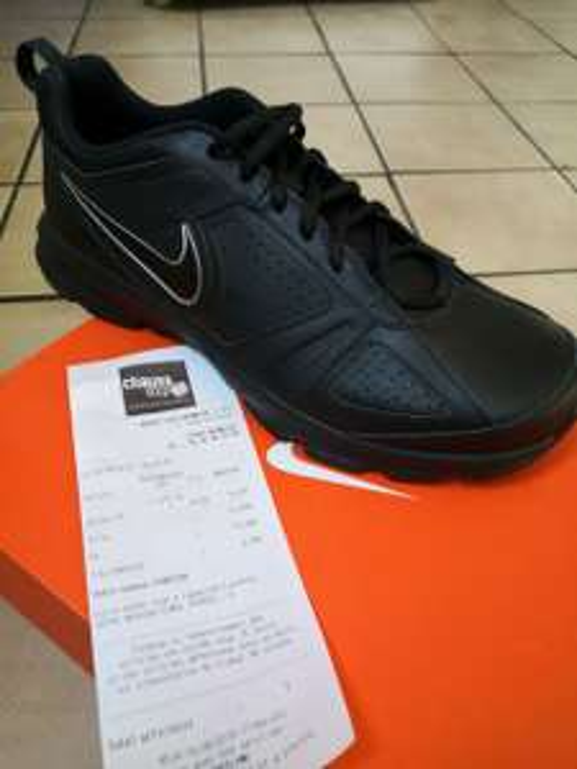 Baskets Homme Nike T-Lite XI Noires - Menneval (27)