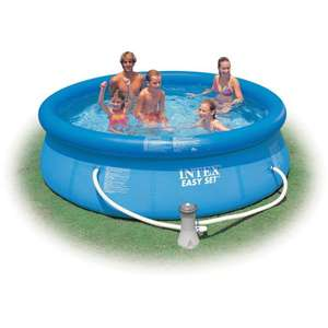 Piscine autoportante Intex Easy Set - Ø 3,05 x H 0,76 m