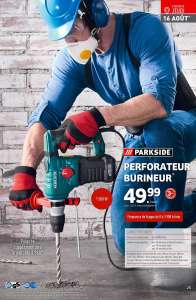 Perforateur Burineur Parkside 1500W