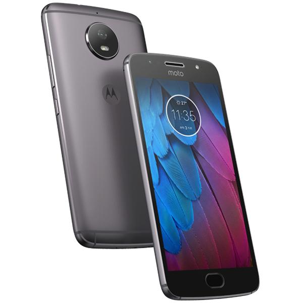 "Smartphone 5,2"" Motorola Moto G5S - Full HD, Snapdragon 430, RAM 3 Go, ROM 32 Go, Gris lunaire"