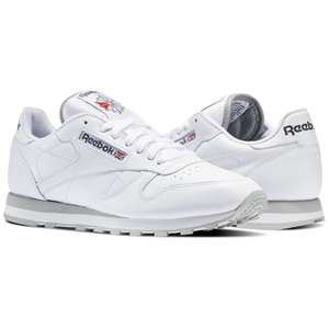 Sneakers Reebok Classic Leather Blanches (Taille 39 au 45)