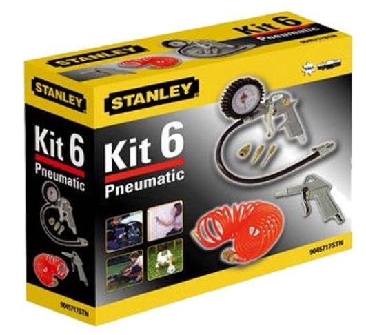 Kit de gonflage 6 pièces Stanley 9045717STN