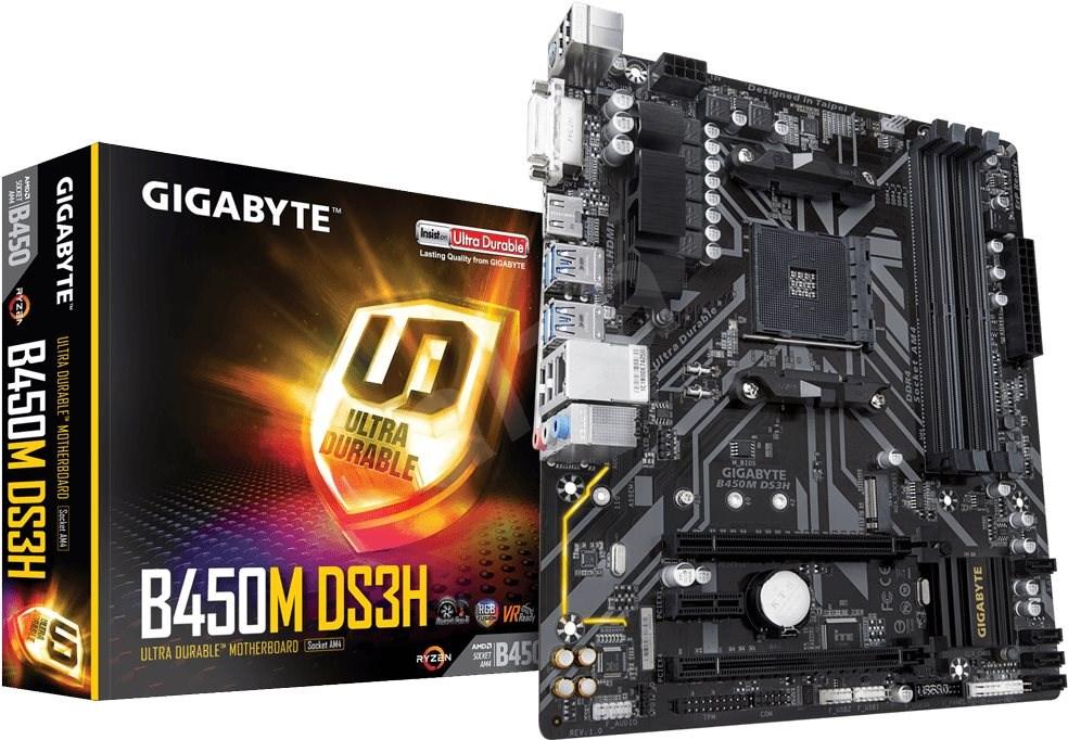 Carte mère Gigabyte GA-B450M-DS3H - mATX