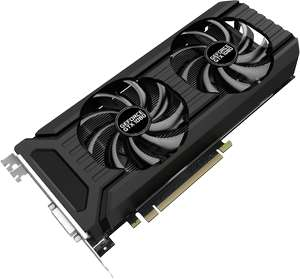 Carte graphique Palit GeForce GTX 1080 Dual OC