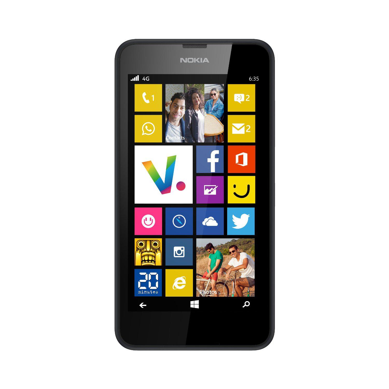 """Smartphone 4.5"""" Nokia Lumia 635 Noir (Avec ODR de 50€)"""