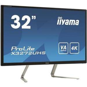 "Ecran PC 32"" Iiyama X3272UHS-B1 - 4K UHD - Dalle MVA - 3ms -75Hz - DisplayPort / HDMI"