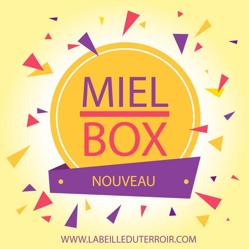 Coffret Surprise Miel Box (labeilleduterroir.com)