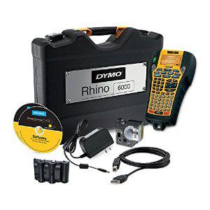 Etiqueteuse Dymo Rhino 6000 avec mallette de transport + 2 rubans (avec ODR 50%)