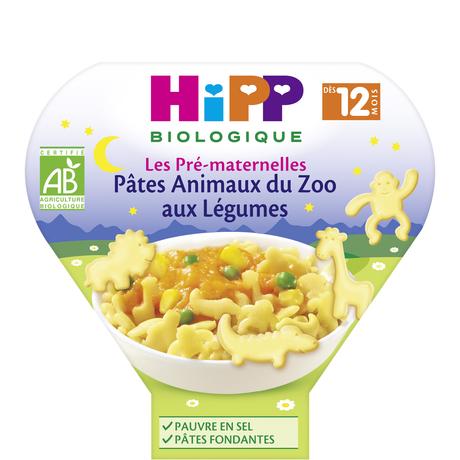 Pâtes Hipp Bio - Animaux du zoo aux légumes - 230g dès 12 mois (Via 1,33€ sur la Carte Fidélité) - Roncq (59)