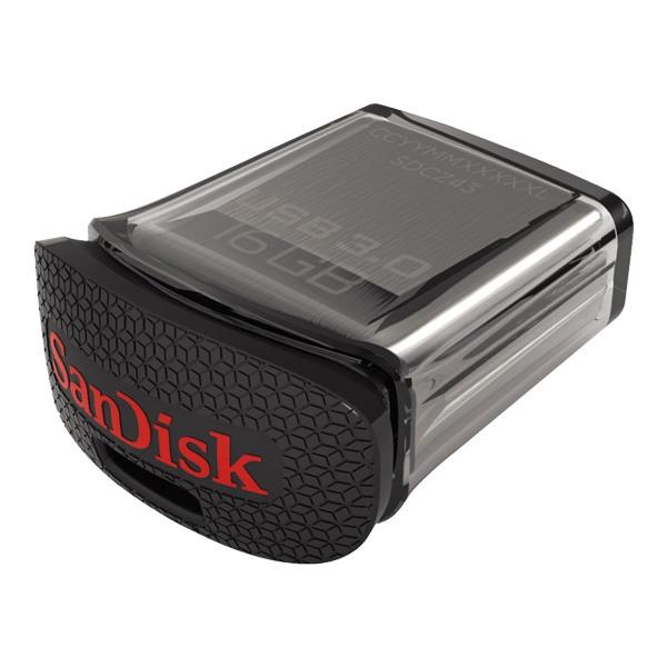 Lot de 2 clés USB 3.0 SanDisk Ultra Fit 16Go - 130 MB/s