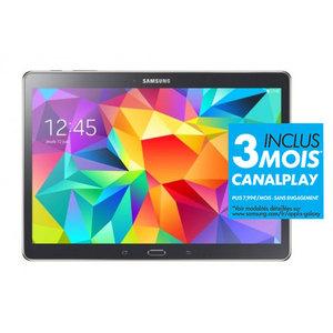"Tablette 10.5"" Samsung Galaxy Tab S 16 Go Carbone (Avec ODR de 50€)"
