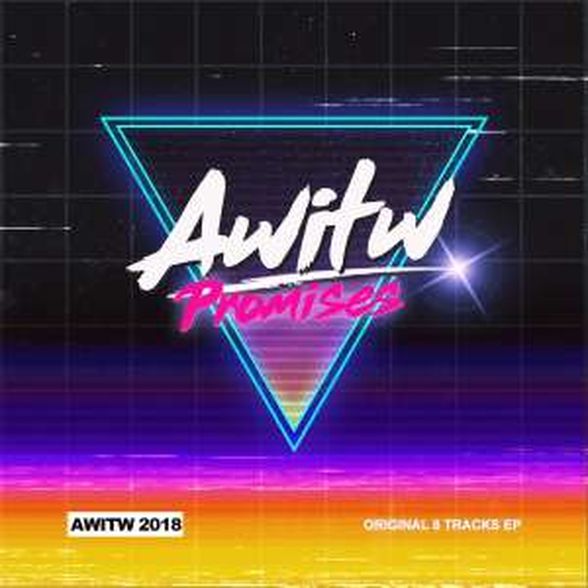 Sélection d'albums et singles dématérialisés d'AWITW (Synthwave) à partir de 1,75€
