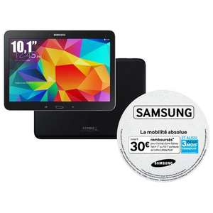 "Tablette 10,1"" Samsung Galaxy Tab 4 - 16 Go - Wifi (via ODR 30€)"