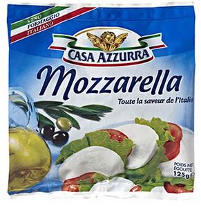 mozzarella Casa Azurra 125g (via bon de réduction de 0,50€ + 30% sur la carte Waaoh)