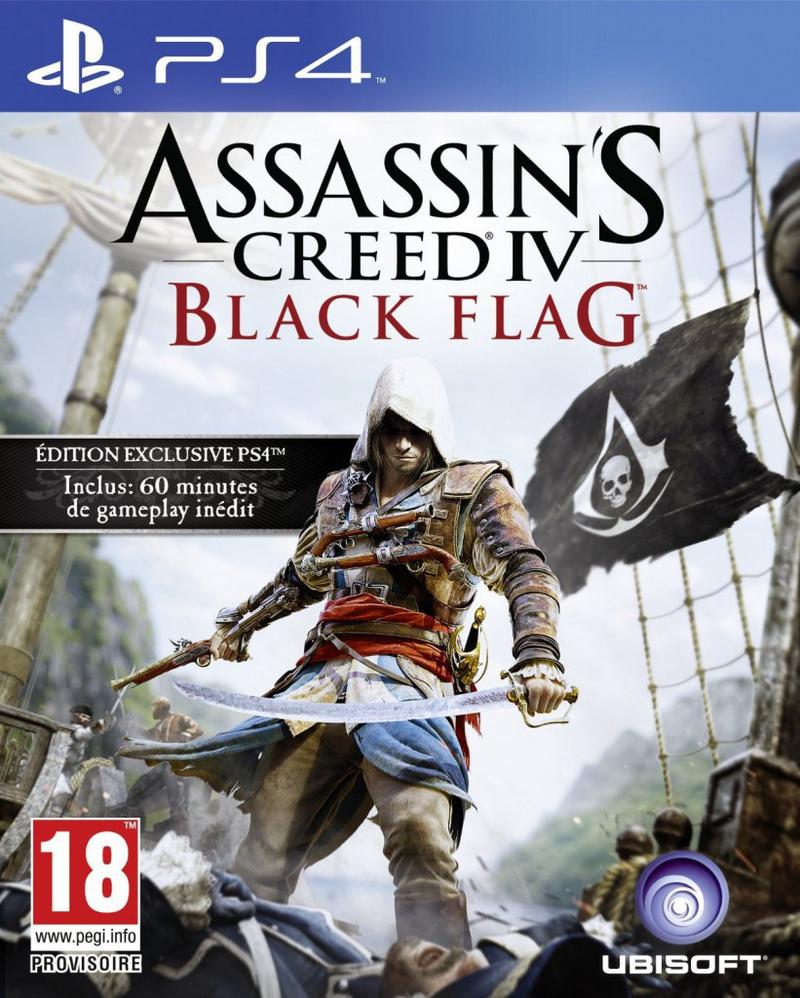 Assassin's Creed Black Flag sur PS4 (dématérialisé)