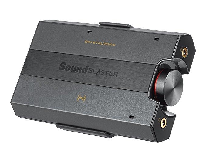 Carte Son/Amplificateur portable pour casque DAC Creative SoundBlaster E5