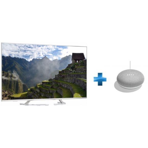 """TV 50"""" Panasonic TX50EX700E (4K UHD, HDR, 10 bits) + Google Home mini"""