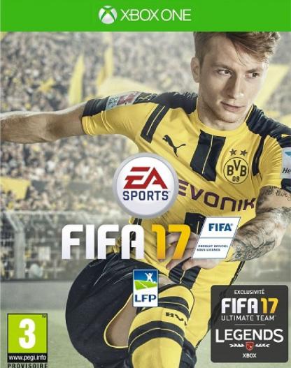 Fifa 17 sur Xbox One et PS4